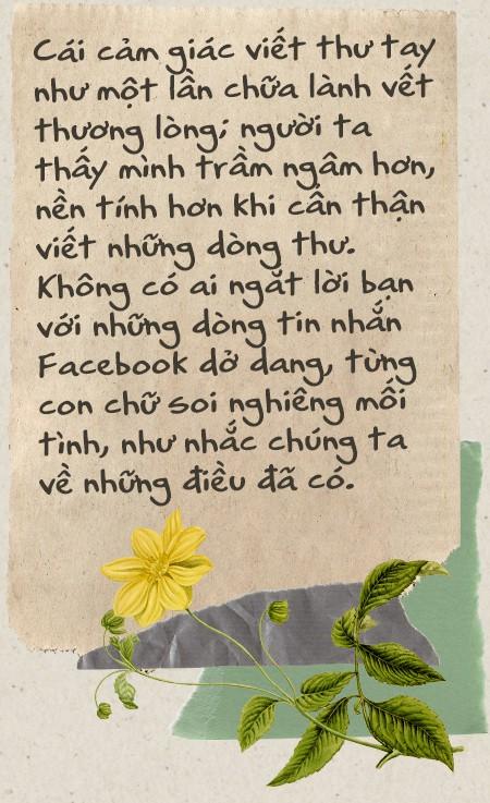 Thời buổi nào rồi còn viết thư tay: Thời của tình yêu, những vấn vương và đôi lời không dám nói - Ảnh 5.