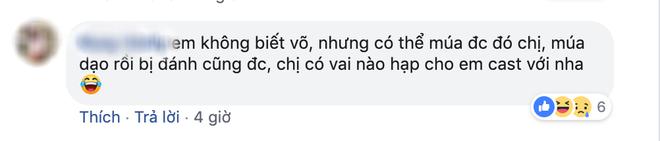 Ngô Thanh Vân kêu gọi tìm lớp đả nữ kế cận, netizen trả lời: Em không biết võ, cho em vai bị đánh được không? - Ảnh 6.