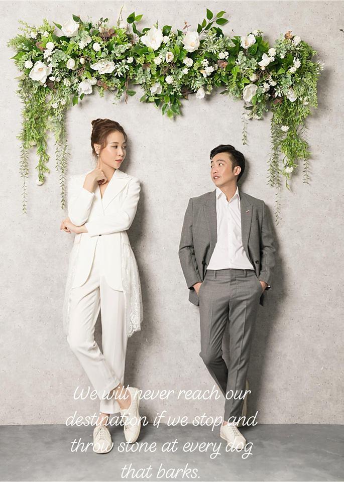 Không chỉ tung thêm ảnh cưới, Cường Đô La còn tăng độ ngọt với Đàm Thu Trang chỉ bằng 1 câu nói! - Ảnh 1.