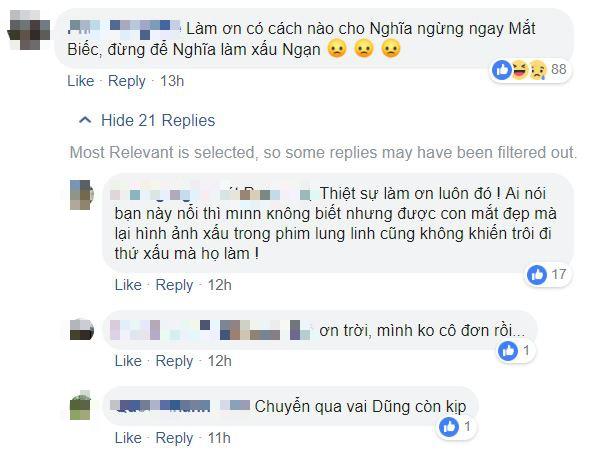 Giữa bão scandal Trần Nghĩa, fan Mắt Biếc đòi đổi diễn viên vì: Mắt Ngạn mà bản chất là Dũng! - Ảnh 7.