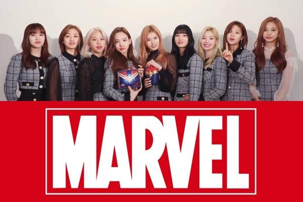 Đến chụp ảnh teaser cũng giống poster phim, không lẽ TWICE hợp tác với Marvel là sự thật? - Ảnh 1.