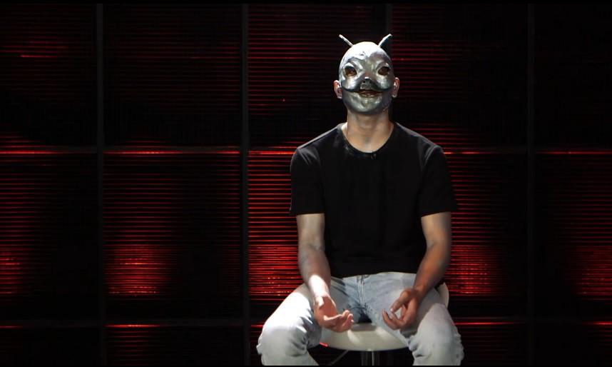 Á quân X-Factor Việt đeo mặt nạ xấu xí đi tìm bạn trai trên show hẹn hò - Ảnh 7.