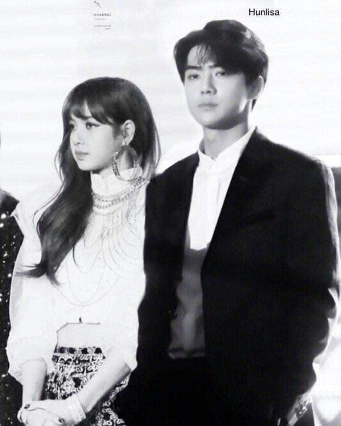 Trình độ công nghệ shipper ngày càng khủng, Sehun (EXO) và Lisa (BLACKPINK) được hẹn hò nhau trong trí tưởng tượng - Ảnh 14.