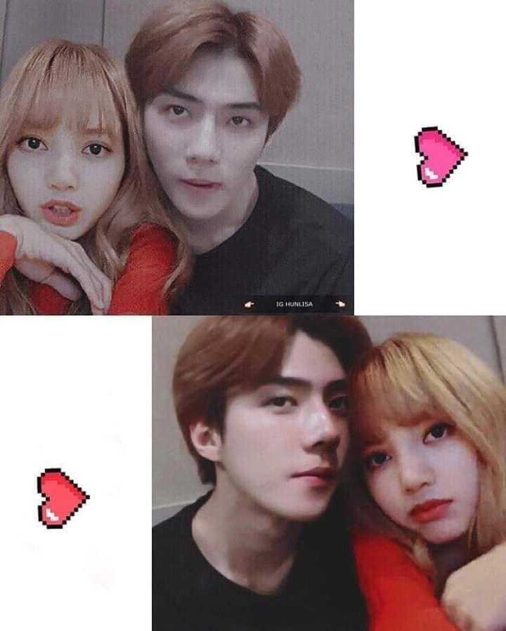 Trình độ công nghệ shipper ngày càng khủng, Sehun (EXO) và Lisa (BLACKPINK) được hẹn hò nhau trong trí tưởng tượng - Ảnh 12.