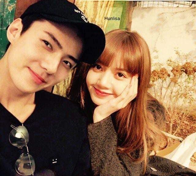 Trình độ công nghệ shipper ngày càng khủng, Sehun (EXO) và Lisa (BLACKPINK) được hẹn hò nhau trong trí tưởng tượng - Ảnh 2.