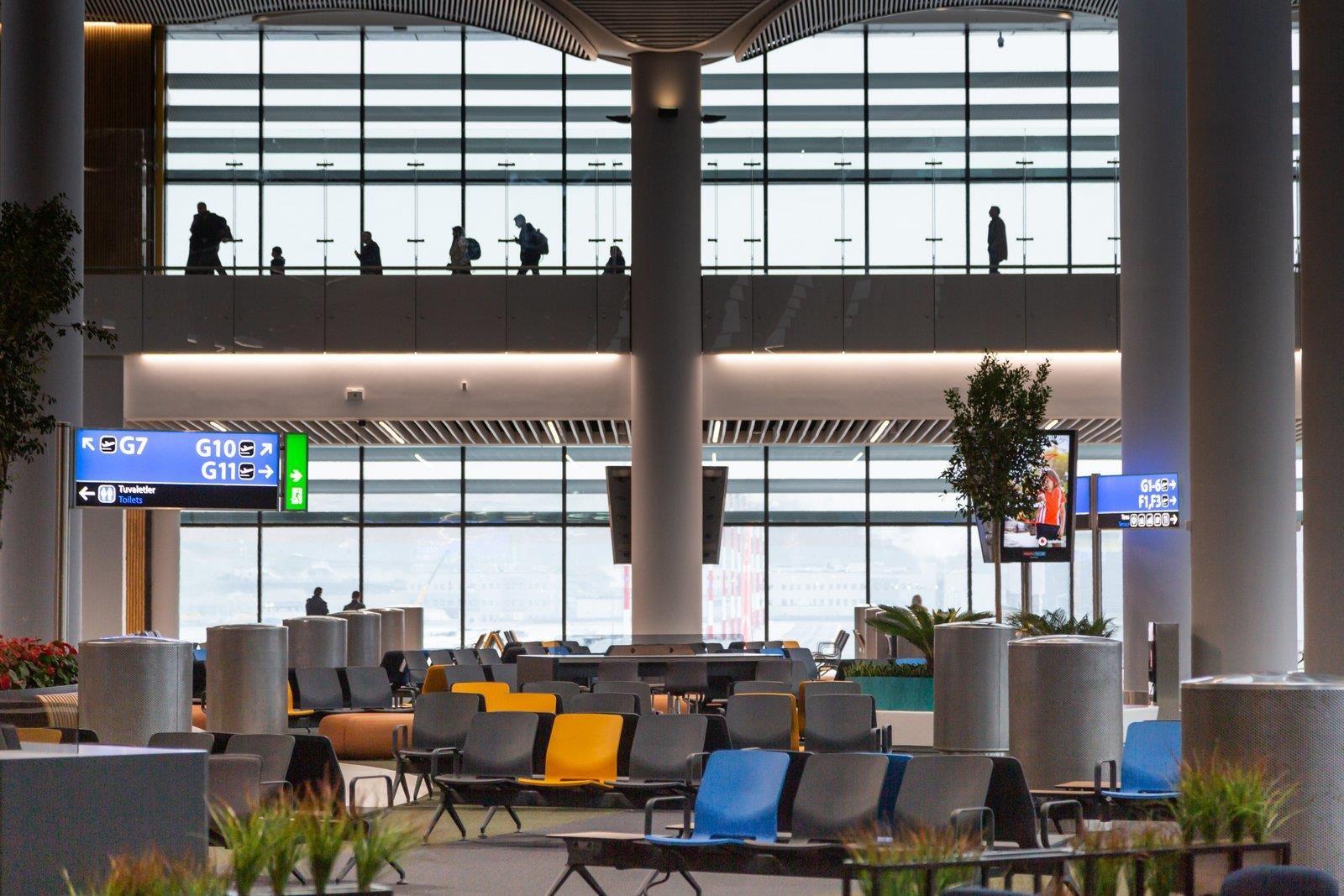 Siêu sân bay 12 tỷ USD của Thổ Nhĩ Kỳ chính thức mở cửa, ai cũng tò mò không biết có gì bên trong - Ảnh 4.