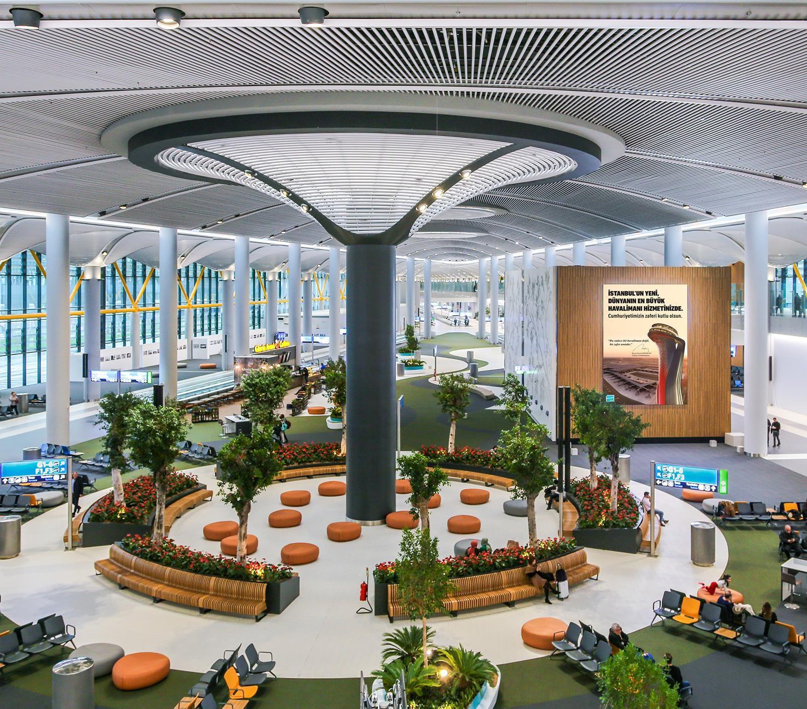 Siêu sân bay 12 tỷ USD của Thổ Nhĩ Kỳ chính thức mở cửa, ai cũng tò mò không biết có gì bên trong - Ảnh 13.