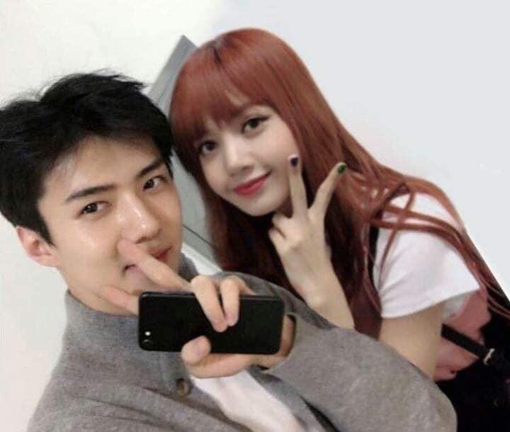 Trình độ công nghệ shipper ngày càng khủng, Sehun (EXO) và Lisa (BLACKPINK) được hẹn hò nhau trong trí tưởng tượng - Ảnh 4.