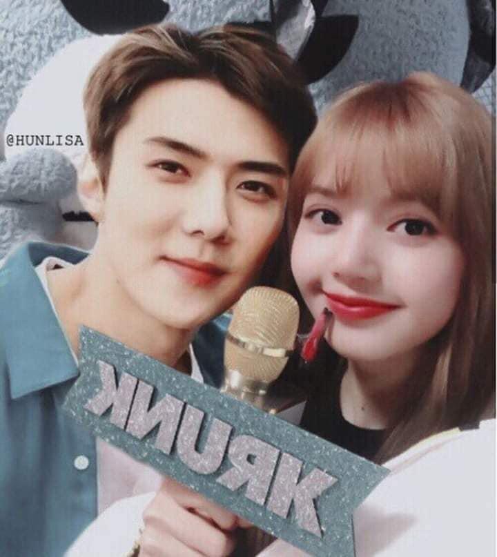 Trình độ công nghệ shipper ngày càng khủng, Sehun (EXO) và Lisa (BLACKPINK) được hẹn hò nhau trong trí tưởng tượng - Ảnh 5.