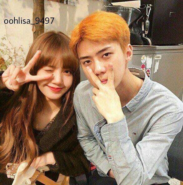 Trình độ công nghệ shipper ngày càng khủng, Sehun (EXO) và Lisa (BLACKPINK) được hẹn hò nhau trong trí tưởng tượng - Ảnh 3.