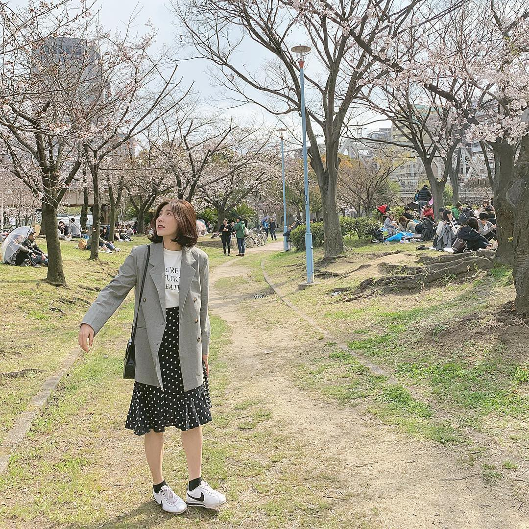 Không Nhật Bản thì Hàn Quốc, cảm giác như cả thế giới đều đi ngắm hoa anh đào hết rồi! - Ảnh 15.
