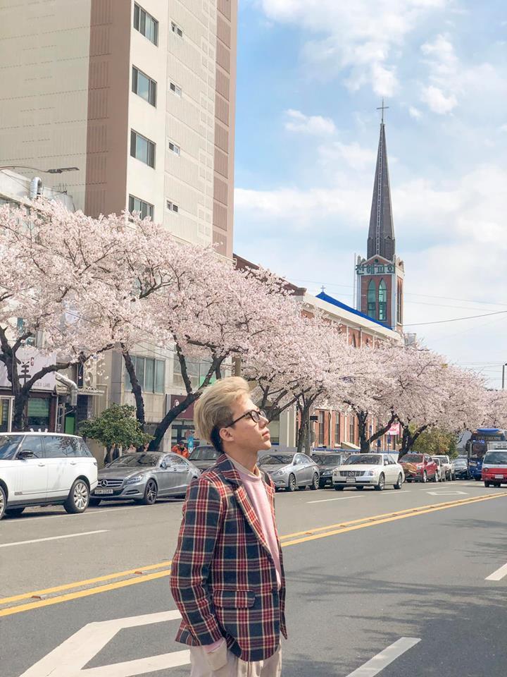 Không Nhật Bản thì Hàn Quốc, cảm giác như cả thế giới đều đi ngắm hoa anh đào hết rồi! - Ảnh 25.