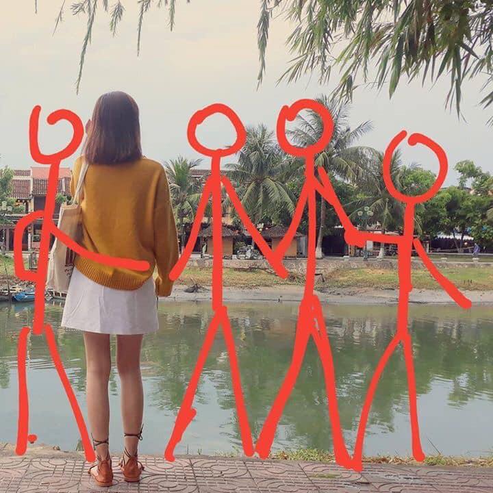 Hiến kế 1001 kiểu pose ảnh nếu chẳng may phải đi du lịch một mình vì bạn thân bùng kèo - Ảnh 7.