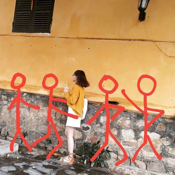 Hiến kế 1001 kiểu pose ảnh nếu chẳng may phải đi du lịch một mình vì bạn thân bùng kèo - Ảnh 9.