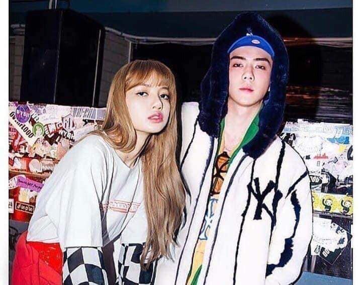 Trình độ công nghệ shipper ngày càng khủng, Sehun (EXO) và Lisa (BLACKPINK) được hẹn hò nhau trong trí tưởng tượng - Ảnh 10.