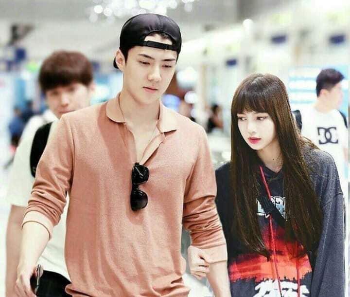 Trình độ công nghệ shipper ngày càng khủng, Sehun (EXO) và Lisa (BLACKPINK) được hẹn hò nhau trong trí tưởng tượng - Ảnh 9.