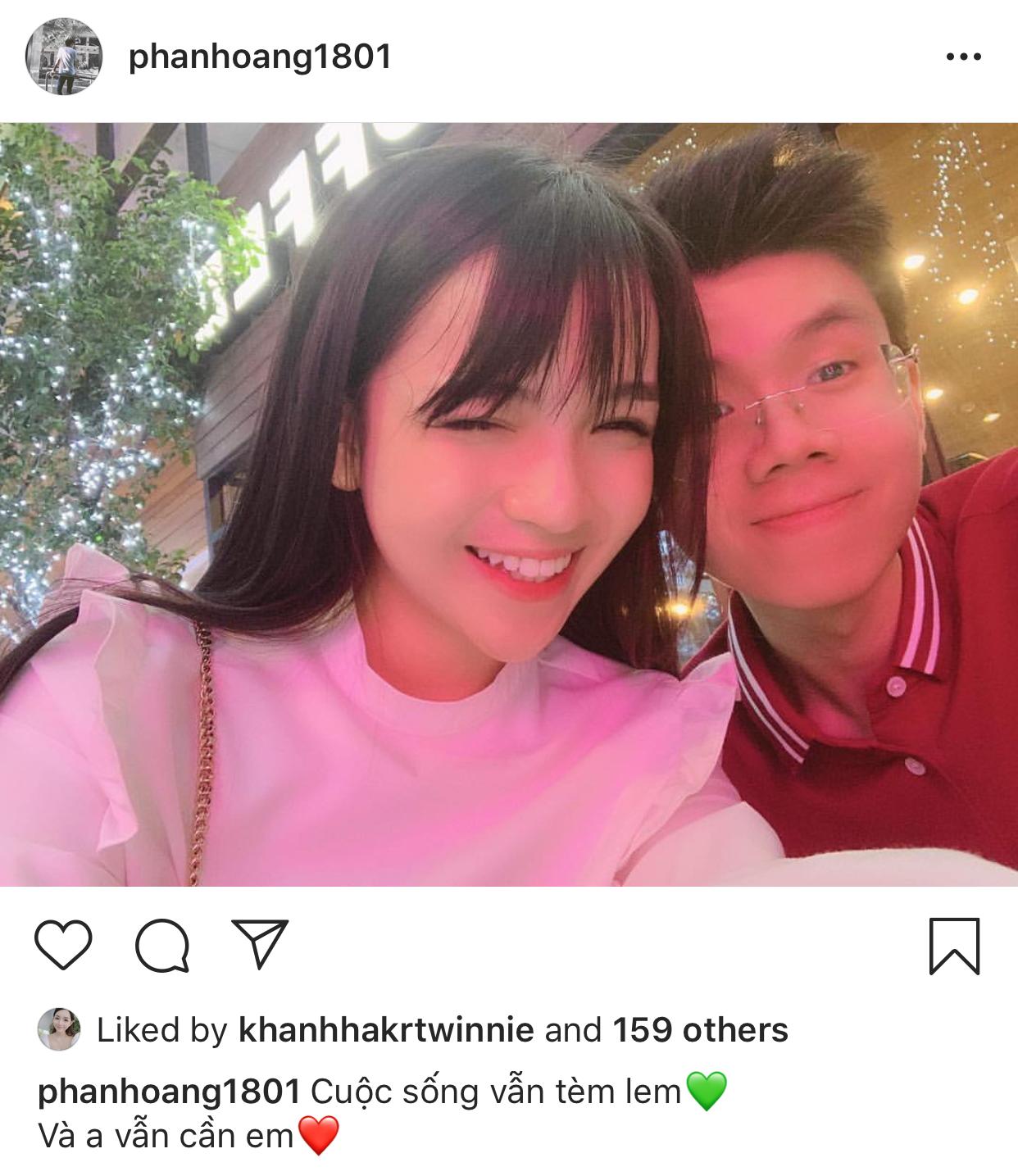 Thiếu gia Phan Hoàng và bạn gái cũ bất ngờ tái hợp - Ảnh 1.