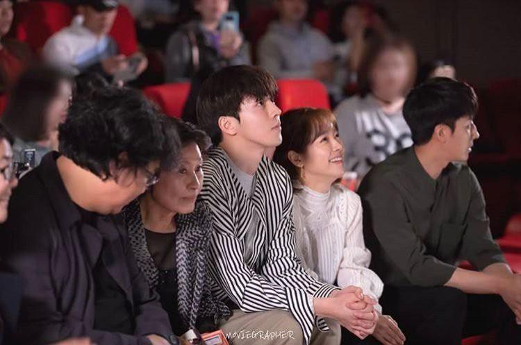 Ảnh Nam Joo Hyuk cùng chị đẹp đi xem phim ngập tràn MXH, nhưng bị gọi tên nhiều nhất lại là 2 nhân vật này! - Ảnh 1.