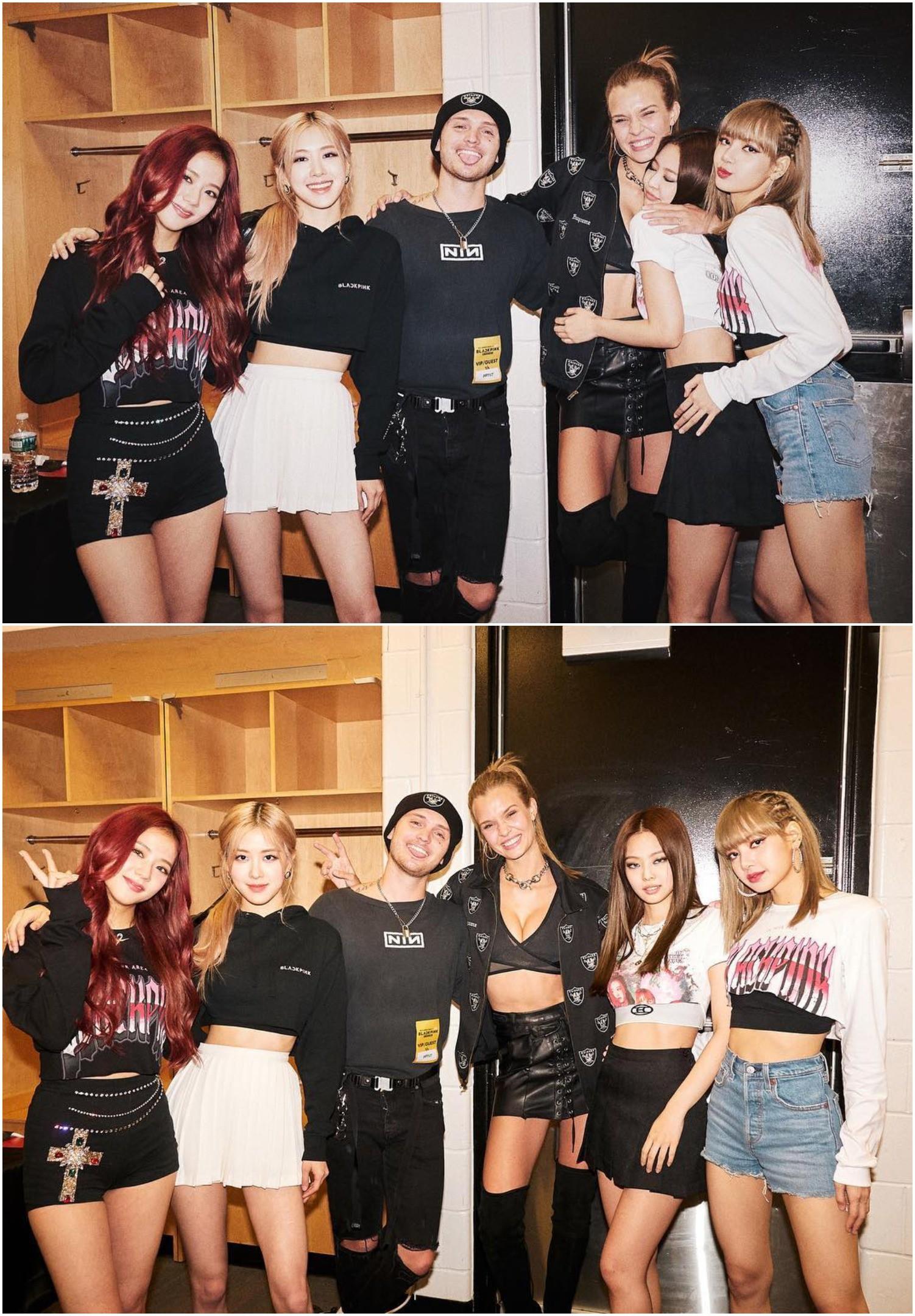 Phản ứng của thiên thần Victorias Secret khi gặp Lisa (BLACKPINK): Mỹ nhân vạn người mê gặp idol cũng cuồng như bao fangirl khác - Ảnh 3.