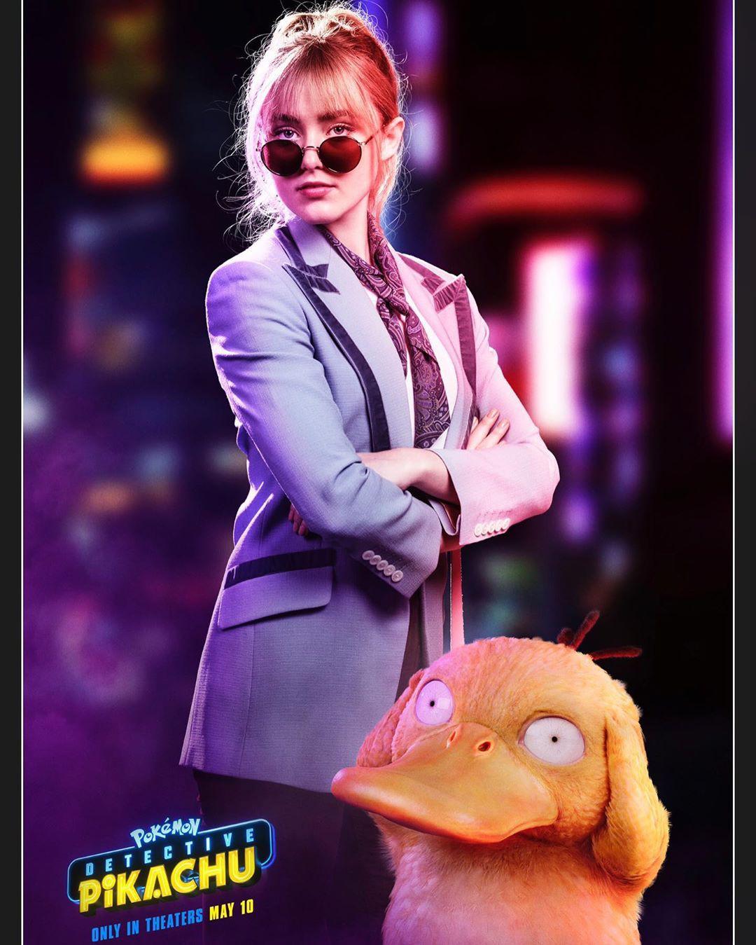 Không phải Ryan Reynolds, nữ chính Pokémon: Detective Pikachu mới là người được xin link nhiều nhất! - Ảnh 2.