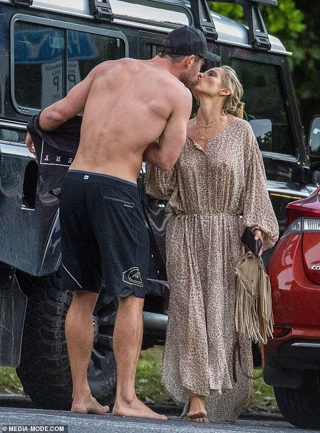 Gây sốt vì loạt ảnh ngọt ngào ấm áp bên vợ con, nhưng hàng Úc khủng của Chris Hemsworth lại chiếm hết cả spotlight - Ảnh 3.