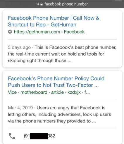 Google nghĩ số điện thoại của tôi là tổng đài hỗ trợ của Facebook - Bi kịch đời tôi bắt đầu - Ảnh 2.