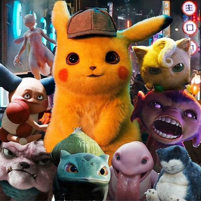 DETECTIVE PIKACHU và kỉ nguyên Pokémon trên màn ảnh rộng - Ảnh 7.