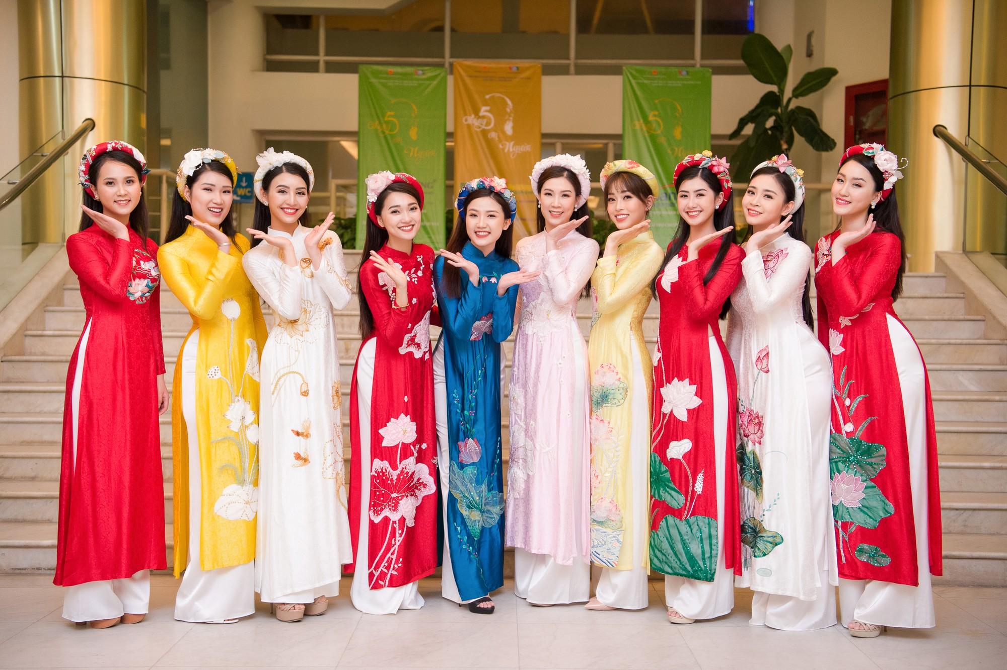 Phương Nga diện áo dài nền nã, thân thiết khi đụng độ bạn gái màn ảnh của Bình An - Ảnh 12.