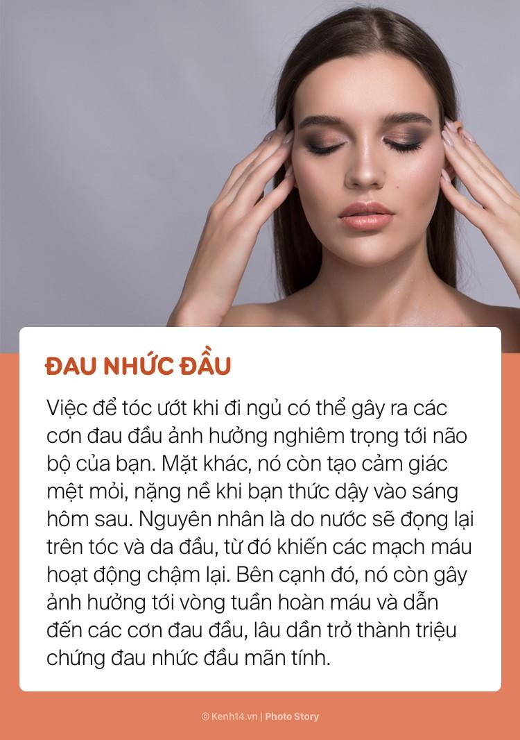 Bất chấp để tóc ướt đi ngủ, bạn sẽ có nguy cơ gặp phải những vấn đề sức khoẻ này - Ảnh 1.