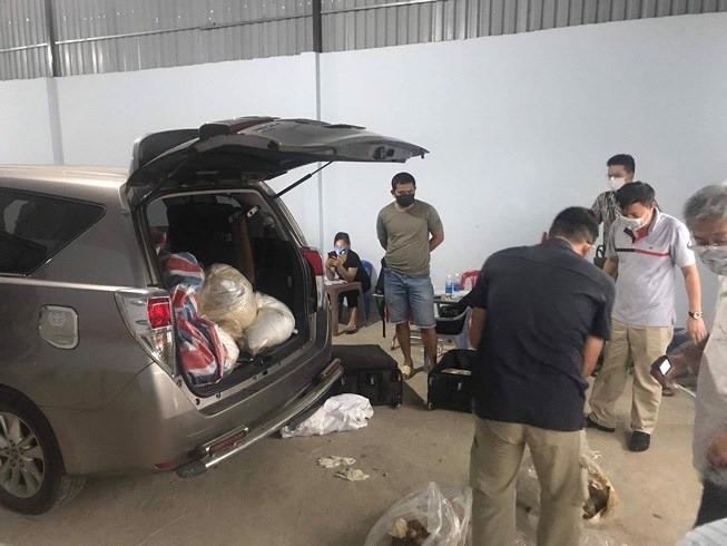 Bộ Công an vây bắt kho ma túy ketamine khủng, trị giá 500 tỷ ở Sài Gòn - Ảnh 3.
