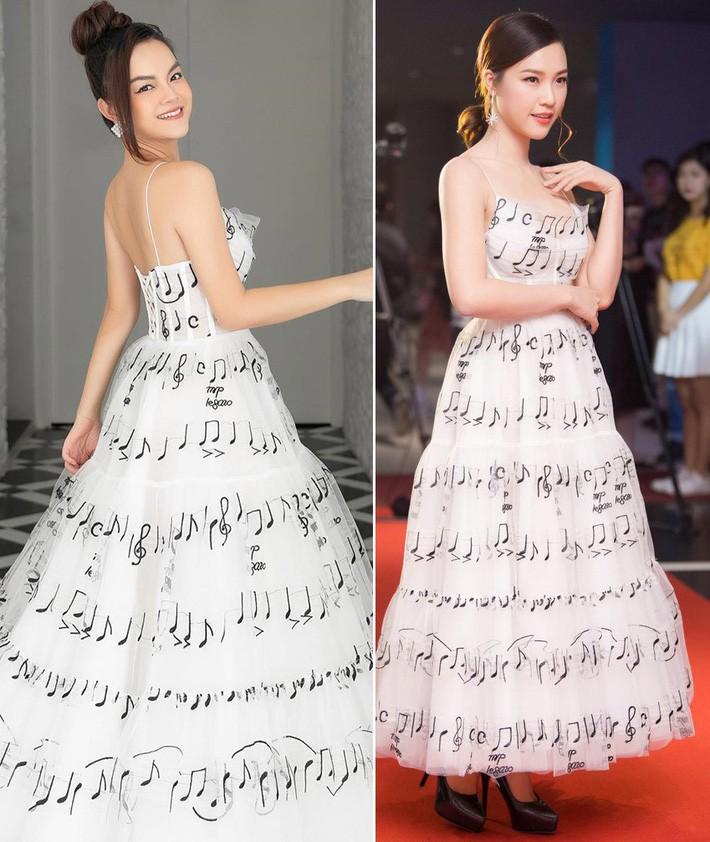 Diện chung váy với Phạm Quỳnh Anh, Hoàng Oanh rất xinh nhưng vẫn mất điểm vì một chi tiết - Ảnh 6.