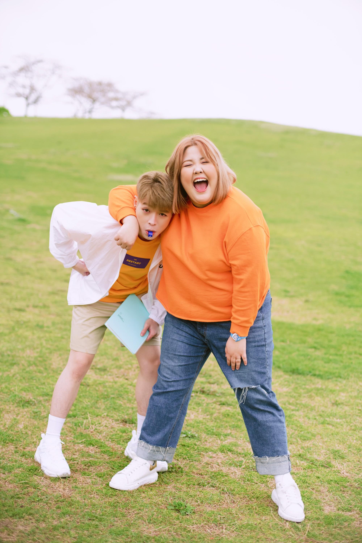 Đức Phúc siêu đáng yêu khi kết đôi cùng cô nàng thánh ăn Hàn Quốc - Yang Soo Bin, kể chuyện tình giảm cân hài hước - Ảnh 4.