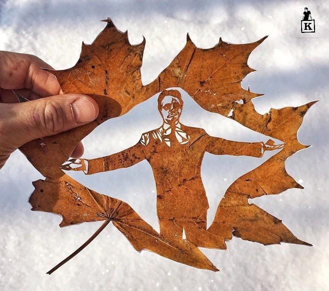 Lá rụng thường bị tống vào thùng rác, lá rụng ở Kazakhstan lại biến thành cả bầu trời nghệ thuật Photo-11-1557766610249619923631