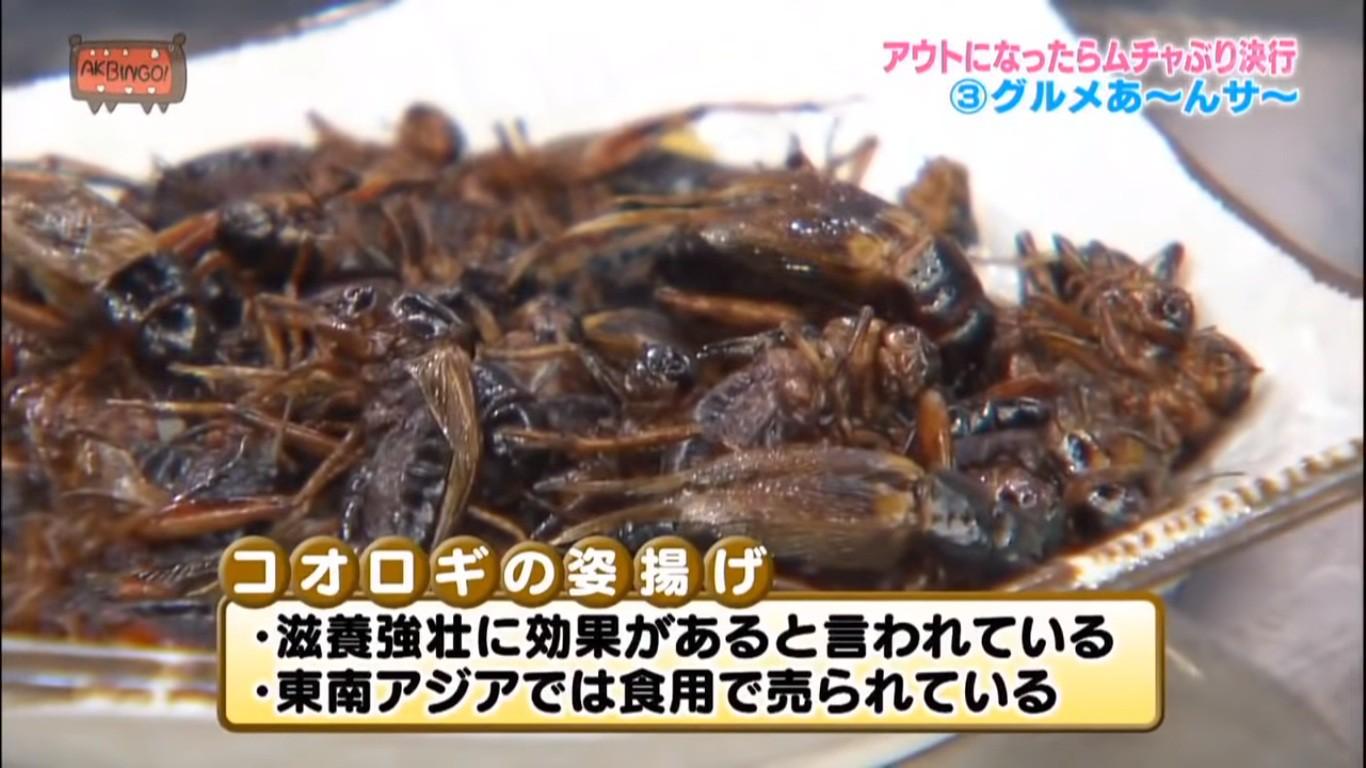 Có hẳn một show truyền hình Nhật cho các cô gái ăn gián, bọ cạp... trong nước mắt - Ảnh 5.