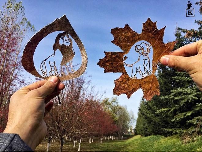 Lá rụng thường bị tống vào thùng rác, lá rụng ở Kazakhstan lại biến thành cả bầu trời nghệ thuật Photo-8-1557766610240261445799