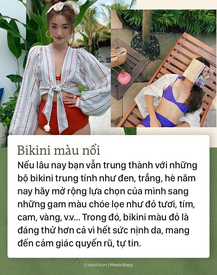 Sắm sửa ngay những mẫu bikini hot nhất mùa hè năm nay, cho các nàng tha hồ diện đi biển - Ảnh 1.