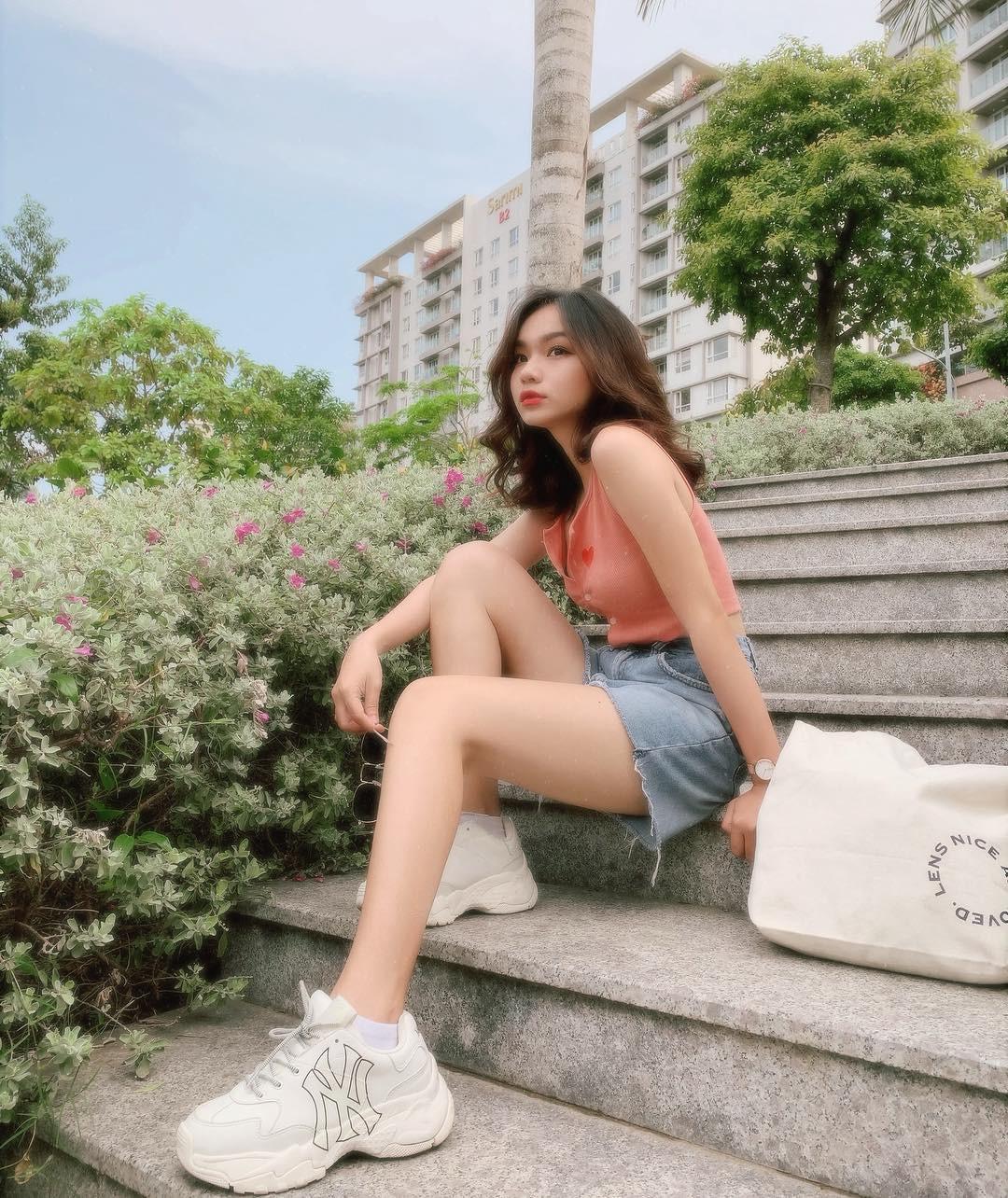 Girl xinh 2000 sở hữu cái tên lạ Trần Nhã Ca, tiết lộ chẳng mấy khi phải dùng đến phần mềm chỉnh ảnh vì lí do này - Ảnh 10.