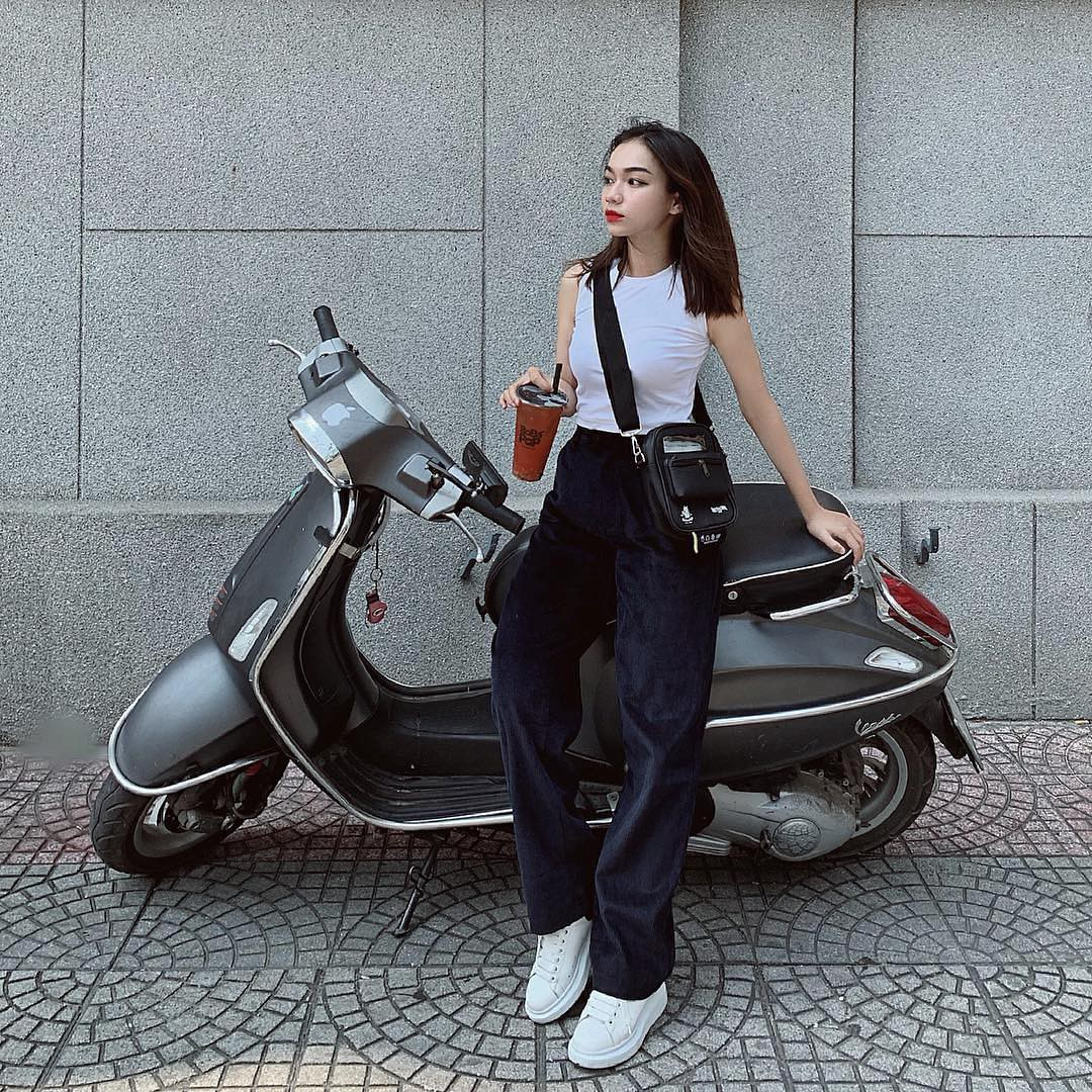 Girl xinh 2000 sở hữu cái tên lạ Trần Nhã Ca, tiết lộ chẳng mấy khi phải dùng đến phần mềm chỉnh ảnh vì lí do này - Ảnh 5.