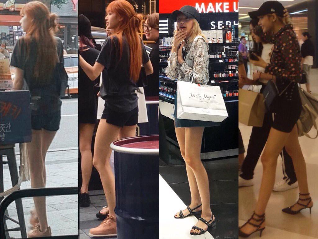 Đẳng cấp búp bê sống Thái Lan Lisa (BLACKPINK): Chân dài trời ban thách thức mọi khung hình, kể cả chụp vội - Ảnh 7.