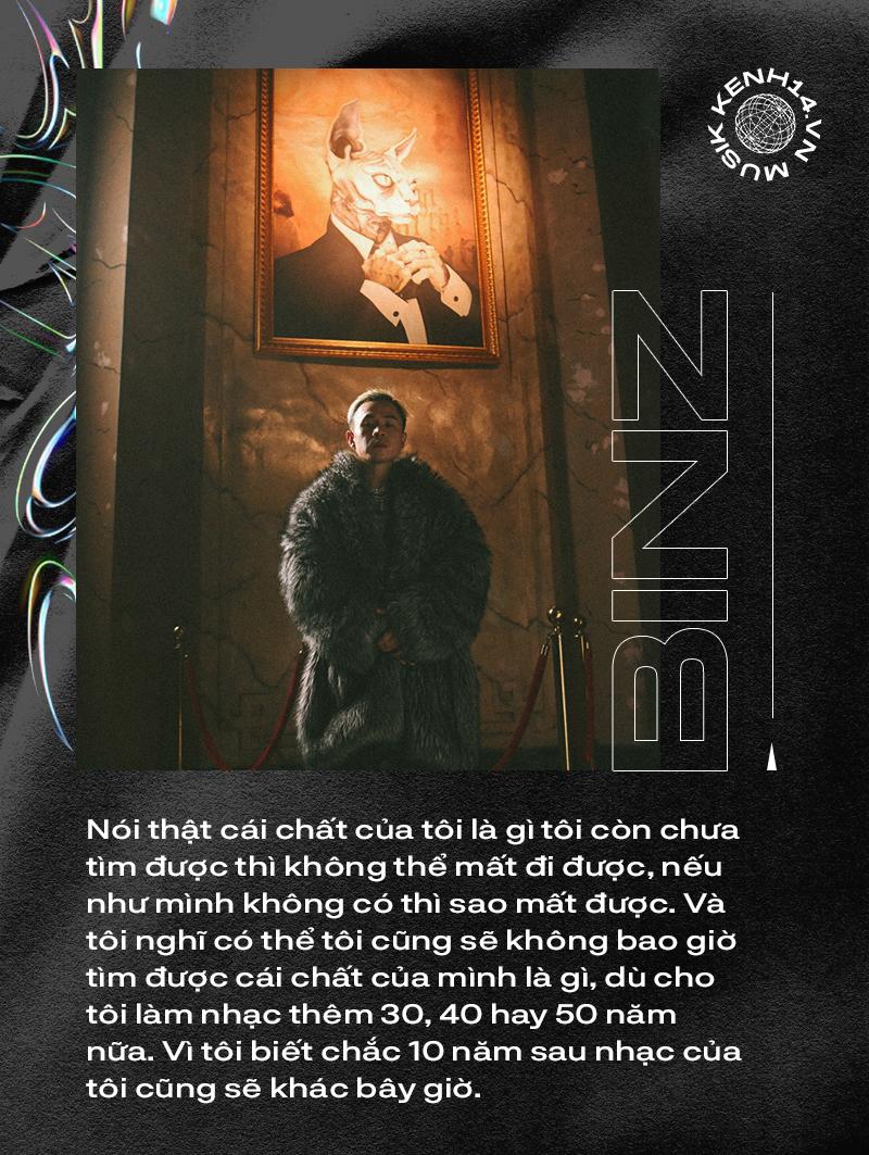 """Binz: """"Nhiều người nói âm nhạc của tôi xưa lãng mạn bao nhiêu thì nay vô nghĩa bấy nhiêu"""" - Ảnh 3."""