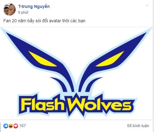 Hi vọng Phong Vũ Buffalo lách qua khe cửa hẹp, fan đua nhau cổ vũ Flash Wolves làm nên kỳ tích trước IG - Ảnh 1.