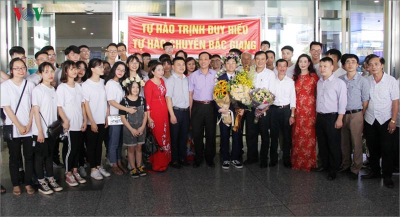 Giành 7 giải, đội tuyển Olympic Vật lý châu Á trở về trong hân hoan - Ảnh 11.