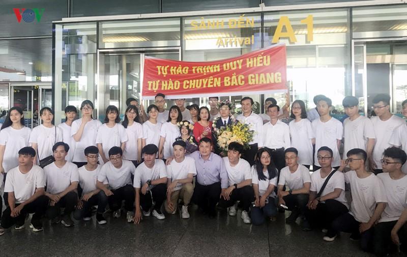 Giành 7 giải, đội tuyển Olympic Vật lý châu Á trở về trong hân hoan - Ảnh 8.