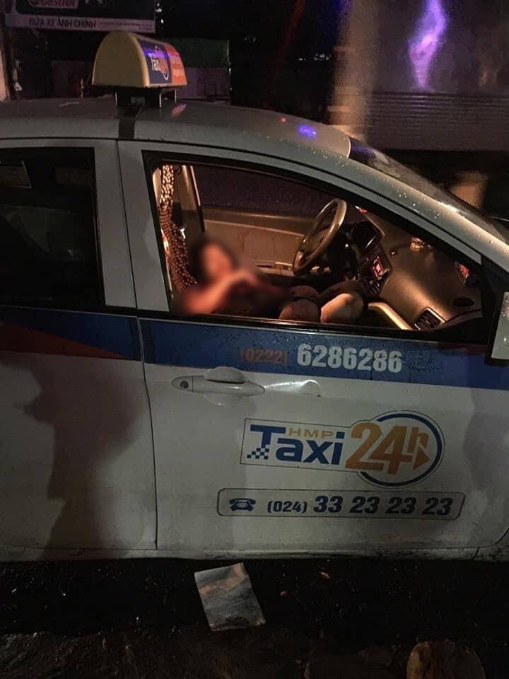 Danh tính người đàn ông đâm gục nữ tài xế taxi rồi dùng dao tự sát ở Hà Nội - Ảnh 1.