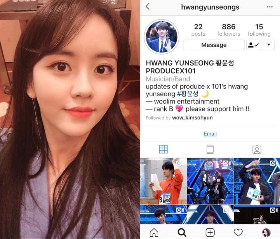 Kim So Hyun là cô gái vàng của làng follow dạo, cả tài khoản fan lập cho Produce X 101 cũng không tha! - Ảnh 2.
