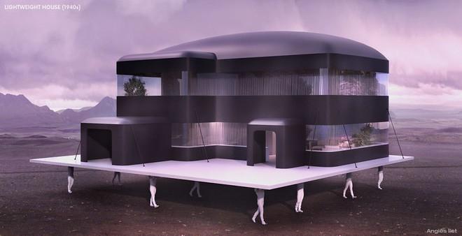 Đây là cách người xưa mường tượng ra nhà ở của thế giới tương lai từ hơn 100 năm trước - Ảnh 4.
