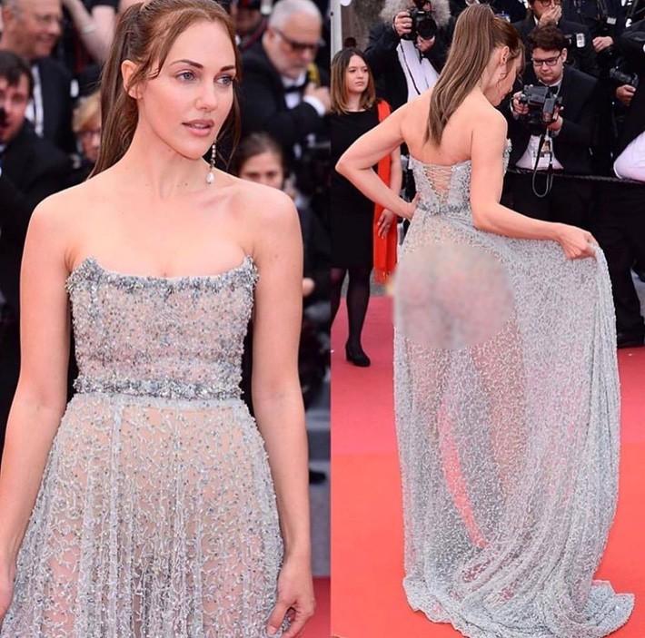Ngay ngày khai mạc LHP Cannes 2019 đã có một người đẹp vô danh lộ nguyên cả bàn tọa trước bàn dân thiên hạ - Ảnh 3.