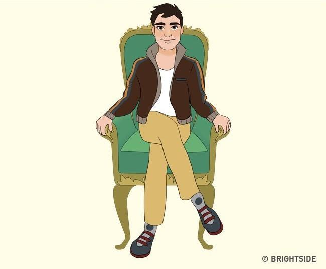 Cách bạn ngồi lên chiếc ghế này sẽ cho biết con người thực sự của bạn như thế nào - Ảnh 10.