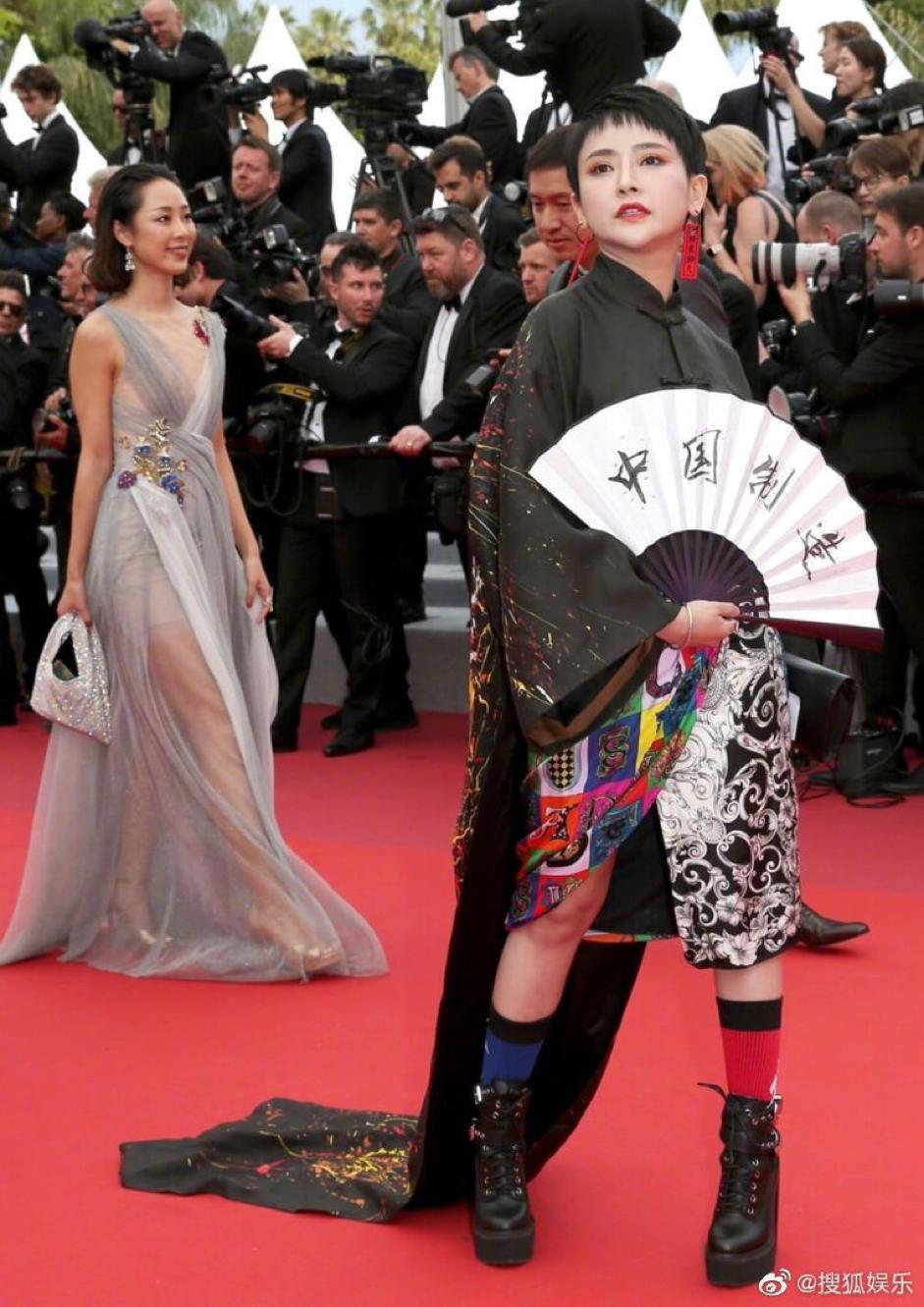 Nhìn thảm đỏ LHP Cannes lố lăng năm nay, chỉ muốn thốt lên: Phạm Băng Băng trốn thuế nhưng vẫn chưa chết nha mấy chế! - Ảnh 2.