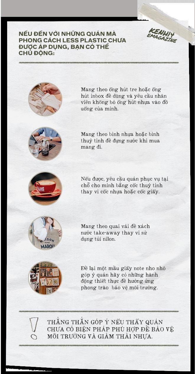"""Quán xá Hà Nội - Sài Gòn cùng nhau """"zero waste"""" để thay đổi từ thói quen đi cafe của người trẻ: Bạn đã bỏ túi các địa điểm này chưa? - Ảnh 18."""